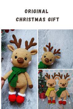 Crochet Deer, Crochet Mouse, Handmade Ideas, Handmade Toys, Textured Yarn, Crochet Basics, Crochet Patterns Amigurumi, Crochet Accessories, Knitting Ideas