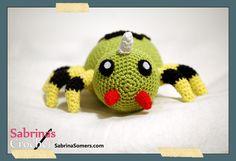 Spinarak Pokemon Free Amigurumi Crochet Pattern