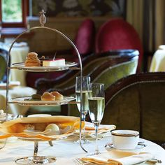 afternoon tea at The Ascot