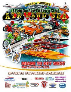 Air Land Sea Poker Run May 15-18