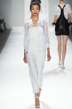 Fresh whites by Milly | Spring 2014 Ready-to-Wear Collection | Style.com