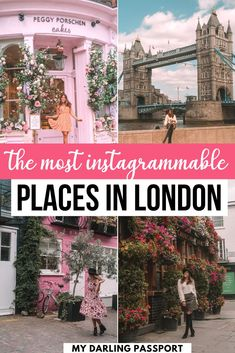 Here are the best Instagram spots in London and tips to capture the perfect shot. London is a beautiful city. It's full of history, art, delicious restaurants and also great Instagram spots! There's no shortage of photo inspiration in London, but it's a huge city and it can be overwhelming trying to hit the top Instagram spots in one trip. This guide to the top Instagram spots in London will help you with that! London photo spots | Pretty places in London | where to take photos in London | Malta, Monaco, Portugal, London Instagram, Europe Travel Guide, Travel Guides, Backpacking Europe, London Places, Things To Do In London