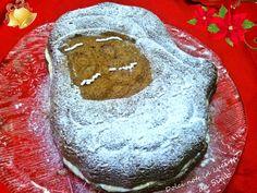 Babbo Torta farcito con crema chantilly e gocce di cioccolato | Dolci note in cucina da Simo Cake, Desserts, Food, Chantilly Cream, Food Cakes, Pie Cake, Tailgate Desserts, Pastel, Meal
