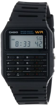 How's this for a SmartWatch?Casio Men's CA53W Calculator Watch. Classic and only $15 bucks.