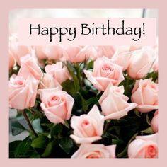 Trendy Happy Birthday Flowers Wishes Pink Roses 19 Ideas Birthday Flowers For Her, Happy Birthday Flowers Wishes, Birthday Images For Her, Happy Birthday Wishes Quotes, Birthday Blessings, Birthday Cards For Her, Girl Birthday Themes, Birthday Qoutes, Birthday Ideas