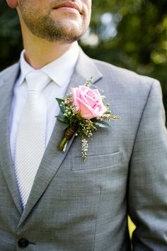 Wedding corsage.
