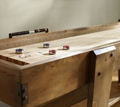 For The Game Room: Shuffleboard Table From Pottery Barn