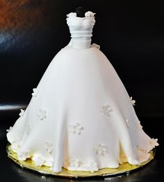 Wedding Gown Cake created by Judy's Cakes