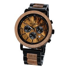 Flare (Apple/Tiger's Eye) Wooden Watch, Watches For Men, Jewelry Accessories, Mens Fashion, Eyes, Flare, Design, Style, Lens Flare