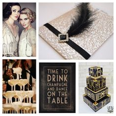 Gatsby wedding board