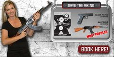 GUN FUN is the only indoor shooting range in the heart of Cape Town CBD, offering international visitors and locals an opportunity to experience an adrenaline rush as they get to shoot real firearms; Indoor Shooting Range, Save The Rhino, Popular Books, Cape Town, Guns, Beauty, Weapons Guns, Revolvers, Weapons
