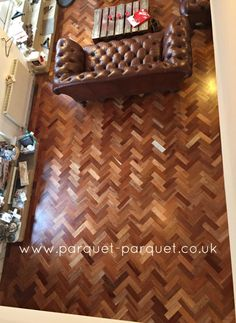 Sapele, also known as Scented Mahogany, a popular reclaimed parquet with warm mid brown-red tones and characteristic grain, available from Parquet Parquet. Reclaimed Parquet Flooring, Wide Plank Flooring, Engineered Hardwood Flooring, Wooden Flooring, Maple Floors, Installing Hardwood Floors, Real Wood Floors, Mahogany Color, Types Of Flooring