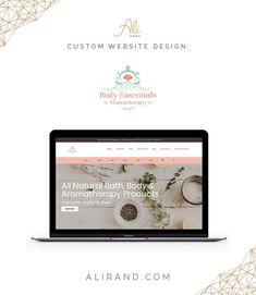 This was a WordPress website redesigned for Florida-based all-natural Body Essentials Aromatherapy, using GeneratePress and Elementor. Webpage Layout, Custom Website Design, Web Design Tips, Hosting Company, Create Website, Business Website, Ecommerce, Bath And Body, Wordpress