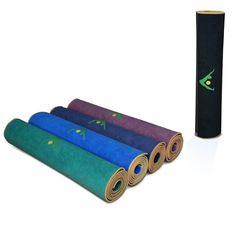 """Aurorae Yoga Mat / Towel, """"Synergy"""" the Original Super Deluxe Slip Free Yoga Mat. Great for Vinyasa, Ashtanga, Bikrim/ Hot Yoga that induces perspiration and slipping. Bonds Our 5mm Per Yoga Mat with Our Lush Ultra Absorbent Slip Free Microfiber Towel. No More Slipping. US Patent Protected"""