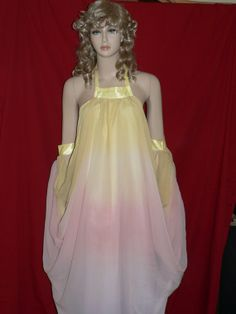 Star Wars is now technically Disney, and this dress is too pretty not to pin! Star Wars Padme Lake Gown Inspired  by khloeskustomklothing, $195.00
