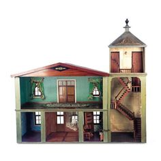 Miniatures and Dollhouses I / View Catalog Item - Theriault's Antique... ❤ liked on Polyvore featuring toys