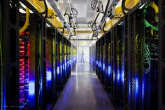 Inside Google, Microsoft, Facebook and HP Data Centers