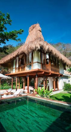 Nihiwatu hotel - Sumba, Indonesia. Responsible luxury is the guiding principle of Nihiwatu's eco-friendly approach. Much of the restaurants' produce is grown in the resort's organic garden, fed by a clever composting and water-recycling system. The hotel'