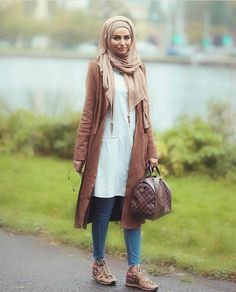 Casual fall outfits for hijabi women – Just Trendy Girls