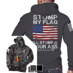 Nine Line Apparel - Tailgate Hoodie - I'll Stomp You (Full Color), $56.99 (http://www.ninelineapparel.com/tailgate-hoodie-ill-stomp-you-full-color/)