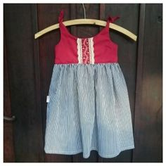 Toddler dress | Slip dress | knotted dress| baby dress Toddler Dress, Baby Dress, Joy, Girls, Dresses, Little Girls, Vestidos, Baby Gown, Gowns