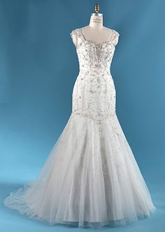 The Tiana wedding gown from the Alfred Angelo Bridal Collection