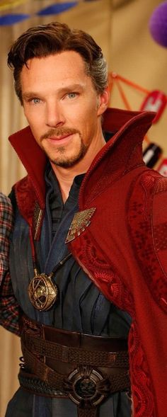 BC as Dr. Strange. Sigh...so many of my faves are doctors.