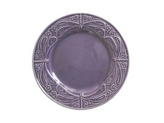 World Market Dragonfly Purple Extra Large 12 Inch Plate Dragonfly Plate Majolica 3 Available Portugal