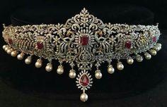 Two Step Diamond Wasitbelt India Jewelry, Fine Jewelry, Women Jewelry, Indian Wedding Jewelry, Bridal Jewelry, Diamond Pendant Necklace, Diamond Choker, Diamond Jewelry, Emerald Necklace