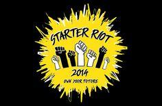 Starter Riot Campaign on Behance - logo design