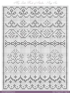 Cross Stitch Bookmarks, Cross Stitch Borders, Cross Stitch Samplers, Cross Stitch Designs, Cross Stitching, Cross Stitch Embroidery, Cross Stitch Patterns, Ssk In Knitting, Knitting Charts
