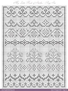 Cross Stitch Bookmarks, Cross Stitch Borders, Cross Stitch Samplers, Cross Stitch Designs, Cross Stitching, Cross Stitch Embroidery, Crochet Borders, Cross Stitch Patterns, Crochet Chart