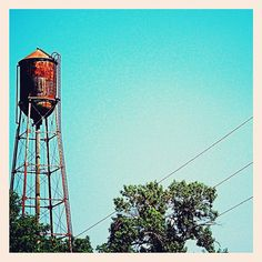 Old water tower at a farm outside Polo - @frankyboy1- #webstagram