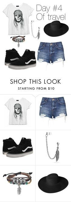 """Travel pt. 4"" by zagl on Polyvore featuring Topshop, Vans, Bling Jewelry and Dorfman Pacific"