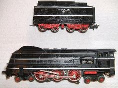 Vintage Marklin Toy Locomotive and Tender