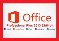 OFFICE 2013 PROFESSIONAL PRO PLUS MULTI-LANGUAGE 3264 BIT KEY LICENZA