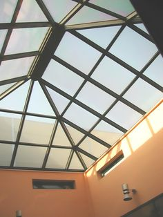 Hospital in Greece with skylight project. Construction without silicon. 10 years guarantee. www.glazetech.gr