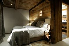 Old Savoie Stable Turned Into a Luxurious Mountain Retreat 9 - Love the bedding for my bedroom