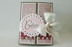 Splitcoaststampers - Tutorials.  Love the folds on this cards, could be fun