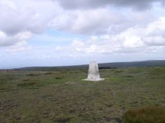 My first Forest of Bowland trig point - on Fair Snape Fell.