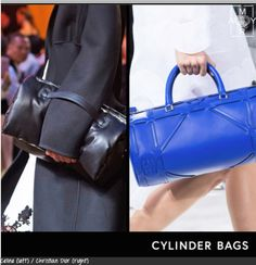 BEST HANDBAG STYLES FOR SPRING 2016:  Handbags are the worthy investment: You wear them everyday, they house all your important paraphernalia and the good ones you'll have forever.  http://myramagazine.com/2015/10/31/best-handbag-styles-for-spring-2016/  #fashion #handbags #trends #accessories #2016  Cylinder-Bags