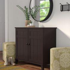 7d2dcc1d5b4 Baxton Studio Calvin Wood Shoe Storage Cabinet in Dark Brown Espresso