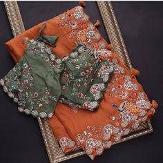 Chennai, Scarf Wearing Styles, Wedding Saree Collection, Orange Saree, Lehenga Style, Casual Saree, Stylish Sarees, Saree Models, Work Sarees