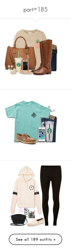 """part#185"" by lovegodaboveallbro ❤ liked on Polyvore featuring Abercrombie & Fitch, Chinti and Parker, Tory Burch, MICHAEL Michael Kors, OtterBox, Bourbon and Boweties, Lord & Taylor, WALL, Sperry and Under Armour"