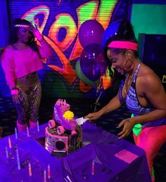 I drive her crazy and she still go out her way to make sure I'm good.  Sis u did a great job planning my 80's skate party!  Love u to the moon and back.  #thanku #toyas80sskateparty #rollinwithToya  cc: @deecardriche ❤️