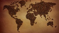 25 Creative World Map Wallpapers For Your Desktop Big Coffee, Cheap Coffee, Coffee Type, I Love Coffee, Coffee Travel, Coffee Around The World, Coffee World, Coffee Bean Art, Coffee Beans