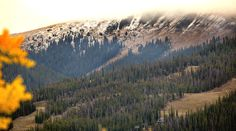 A slight dusting of snow arrived on September 24!