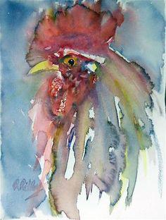 """Hair Gel"" - Original Fine Art for Sale - © Ron Ridley"