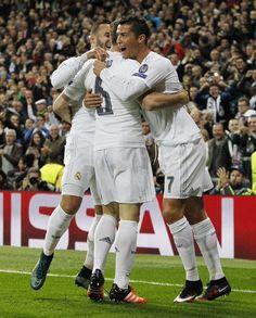 Nacho, Cristiano Ronaldo & Jesé Real Madrid