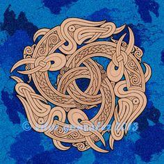 Northern Atlantic Meets Southern Pacific by twistedstrokes on DeviantArt Druid Symbols, Viking Symbols, Viking Runes, Arte Viking, Viking Art, Vikings, Celtic Patterns, Celtic Designs, Torso Tattoos